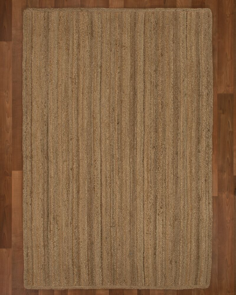 Chicago Jute Natural Area Rug Rug Size: Rectangle 6' x 9'