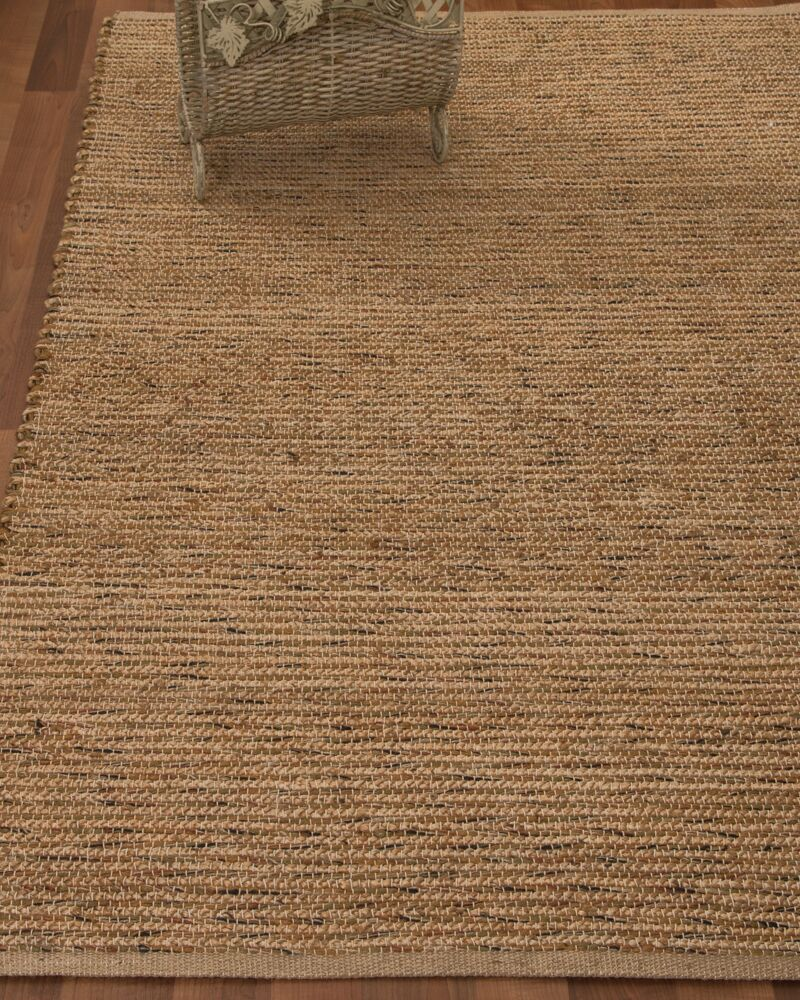 Alexander Hand-Woven Brown Area Rug Rug Size: Rectangle 4' x 6'
