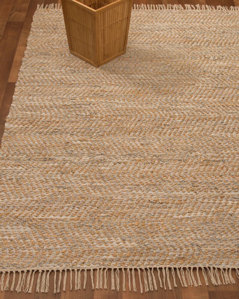 Moreno Hand-Woven Beige Area Rug Rug Size: Rectangle 8' x 10'