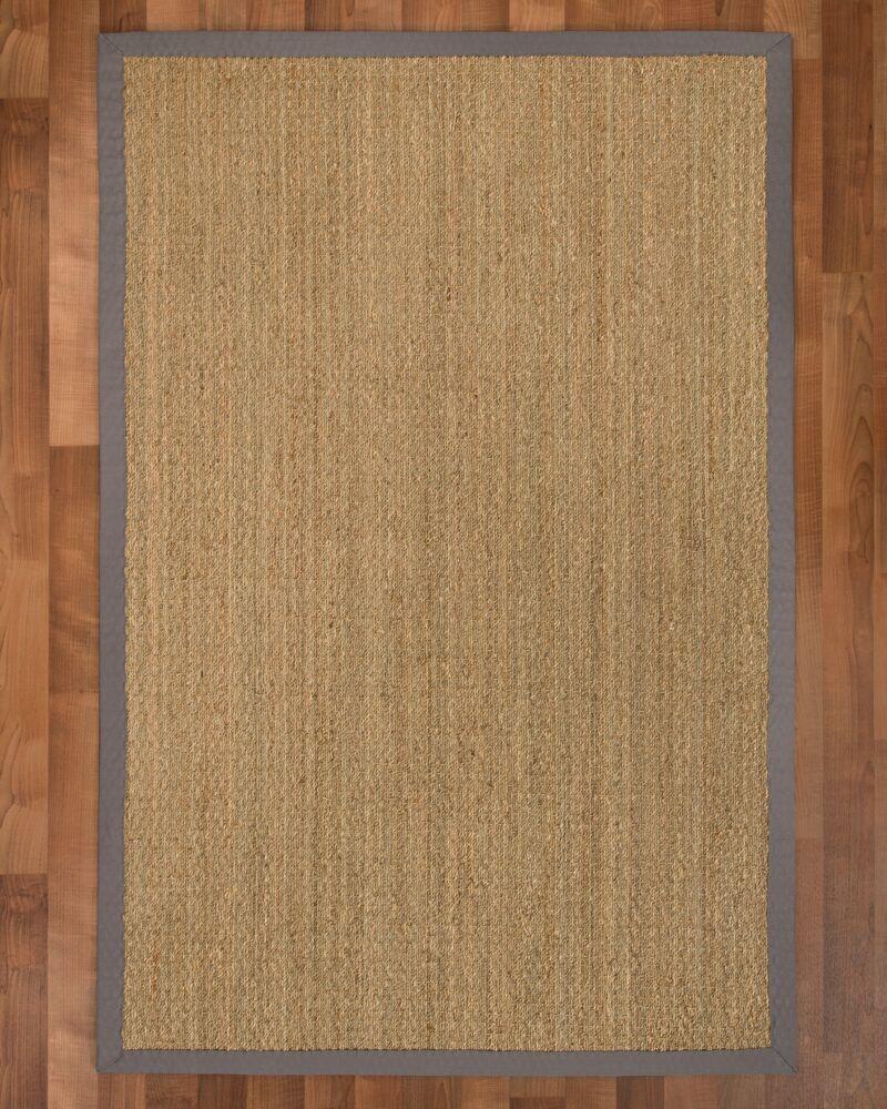 Maritime Handmade Stone Area Rug Rug Size: Rectangle 6' x 9'