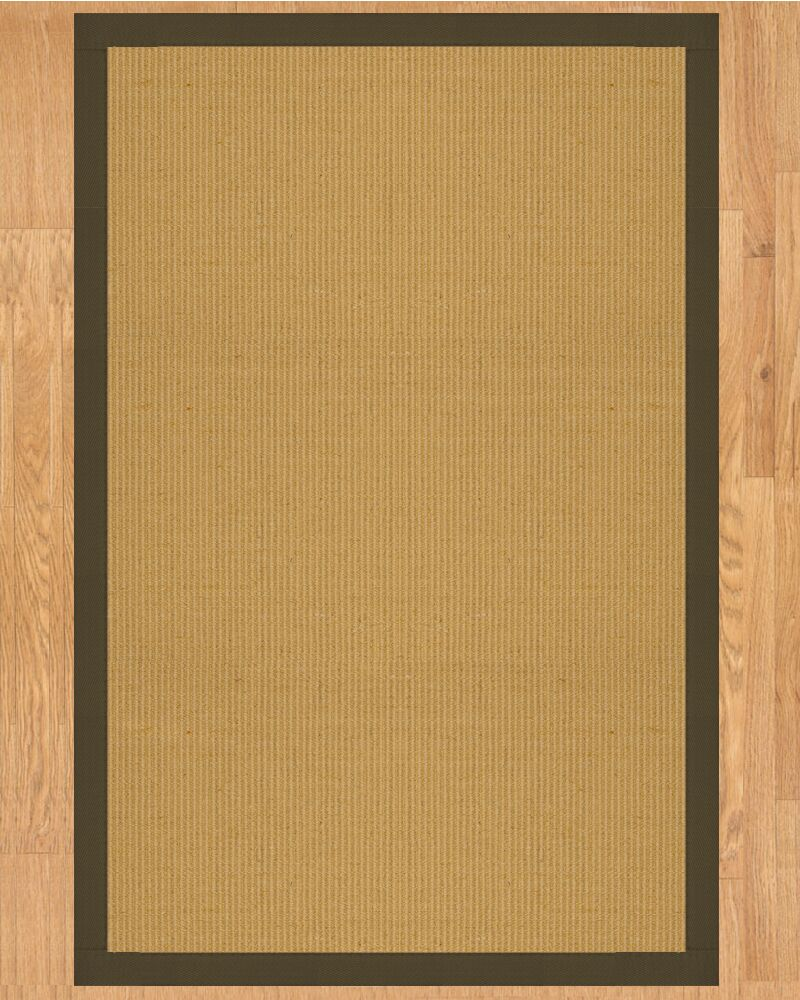 Victoria Hand Crafted Malt Area Rug Rug Size: Rectangle 9' x 12'