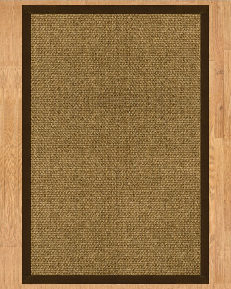 Karis Hand Crafted Fudge Area Rug Rug Size: Rectangle 5' x 8'