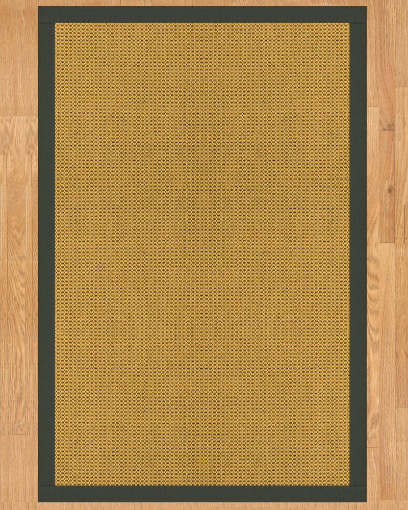 Santiago Hand Crafted Metal Area Rug Rug Size: Rectangle 8' x 10'