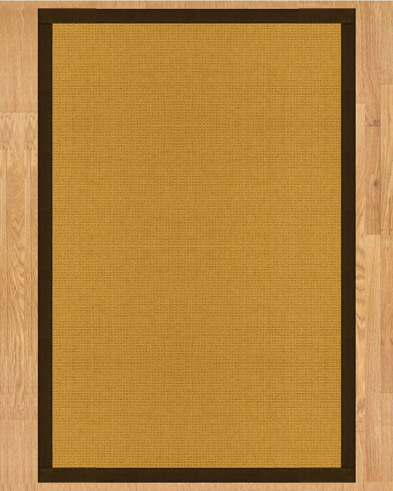 Davlin Hand Crafted Fudge Area Rug Rug Size: Rectangle 5' x 8'