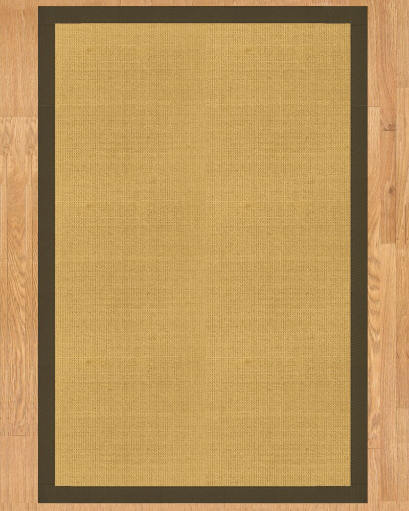 Barbados Hand Crafted Malt Area Rug Rug Size: Rectangle 9' x 12'