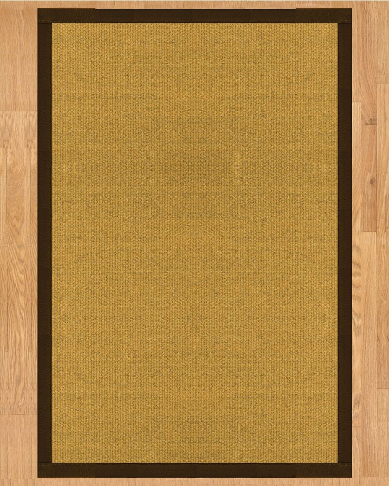 Niagara Fudge Hand-Woven Tan Area Rug Rug Size: Runner 2'6