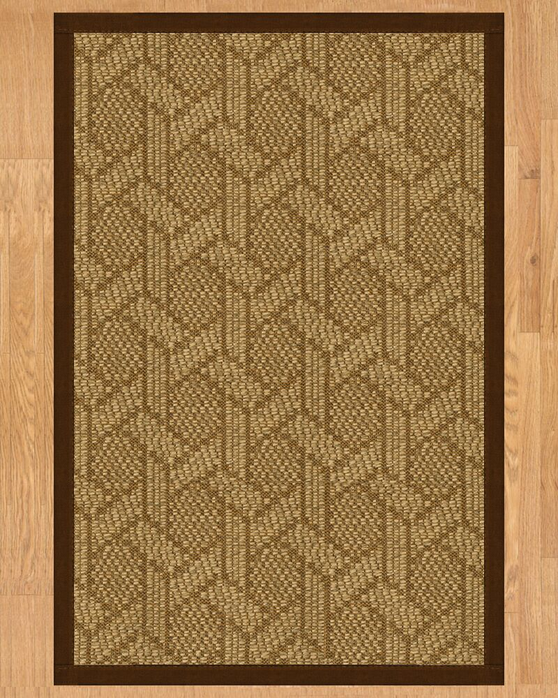 Seattle Hand Crafted Brown Area Rug Rug Size: Runner 2'6