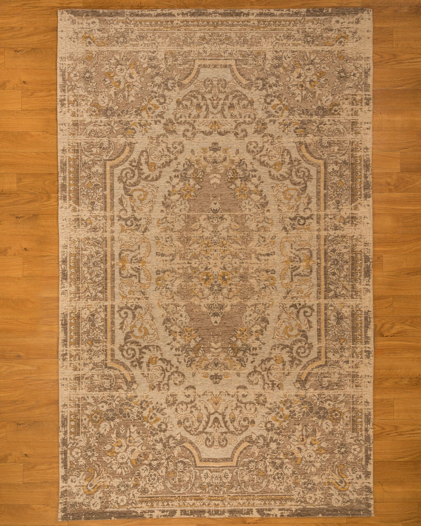 Allegro Brown Area Rug Rug Size: Rectangle 8' x 10'