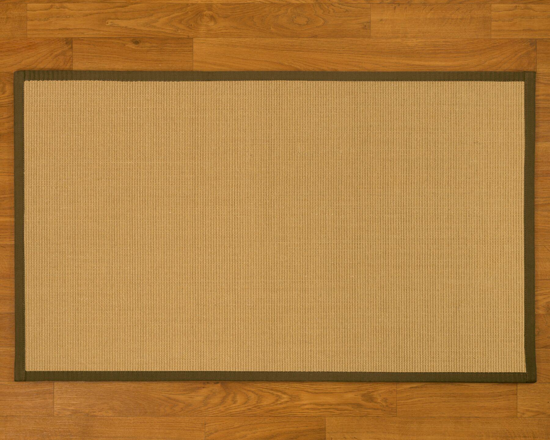 Buschwickl Handmade Beige Area Rug Rug Size: Rectangle 12' x 15'