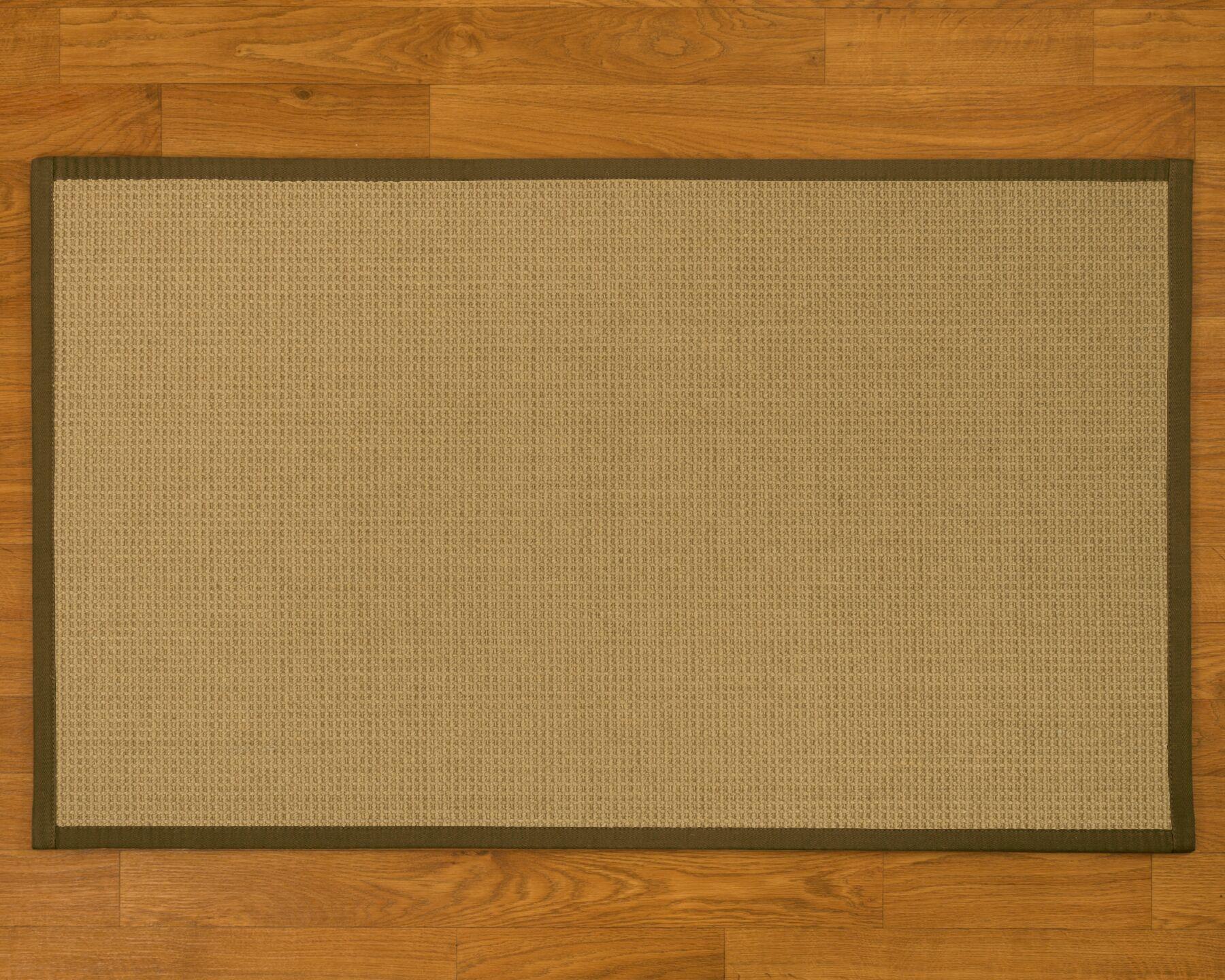 Jacobs Hand-Woven Malt Area Rug Rug Size: Rectangle 9' x 12'