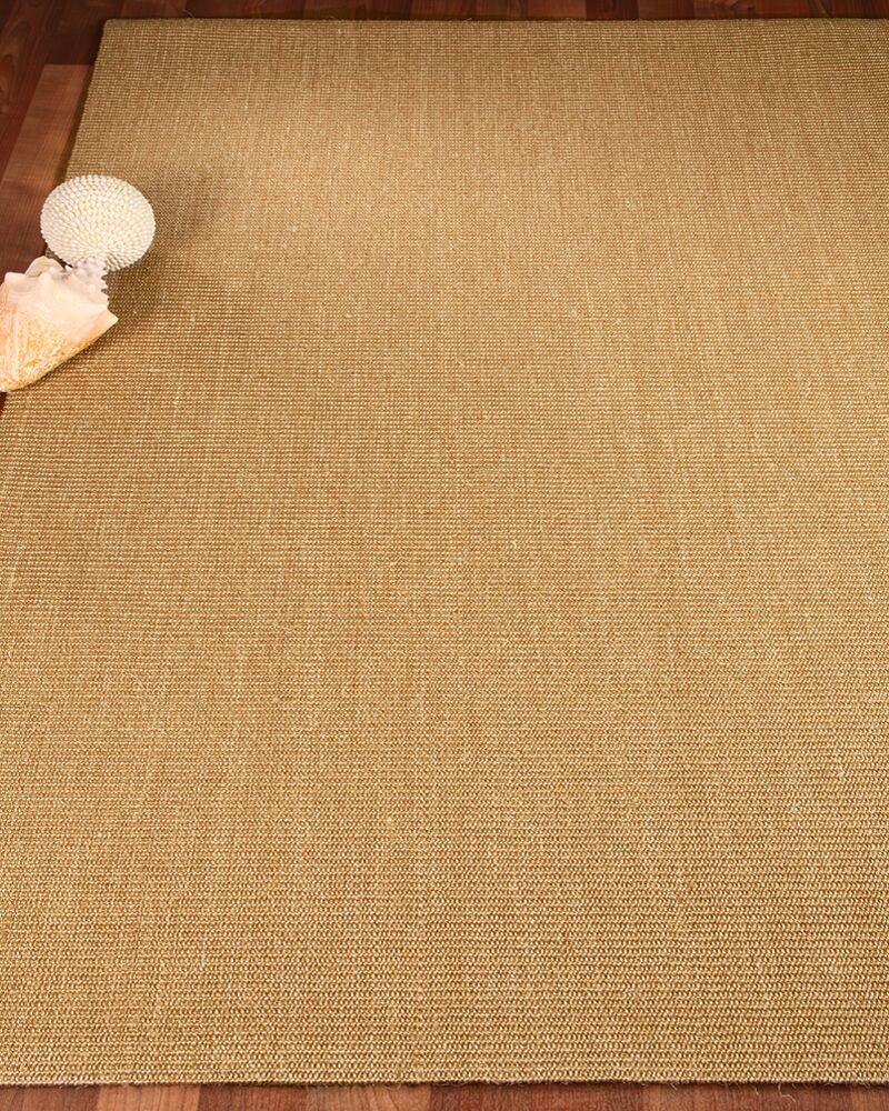 Tribeca Sisal Handmade Brown Area Rug Rug Size: Rectangle 9' x 12'