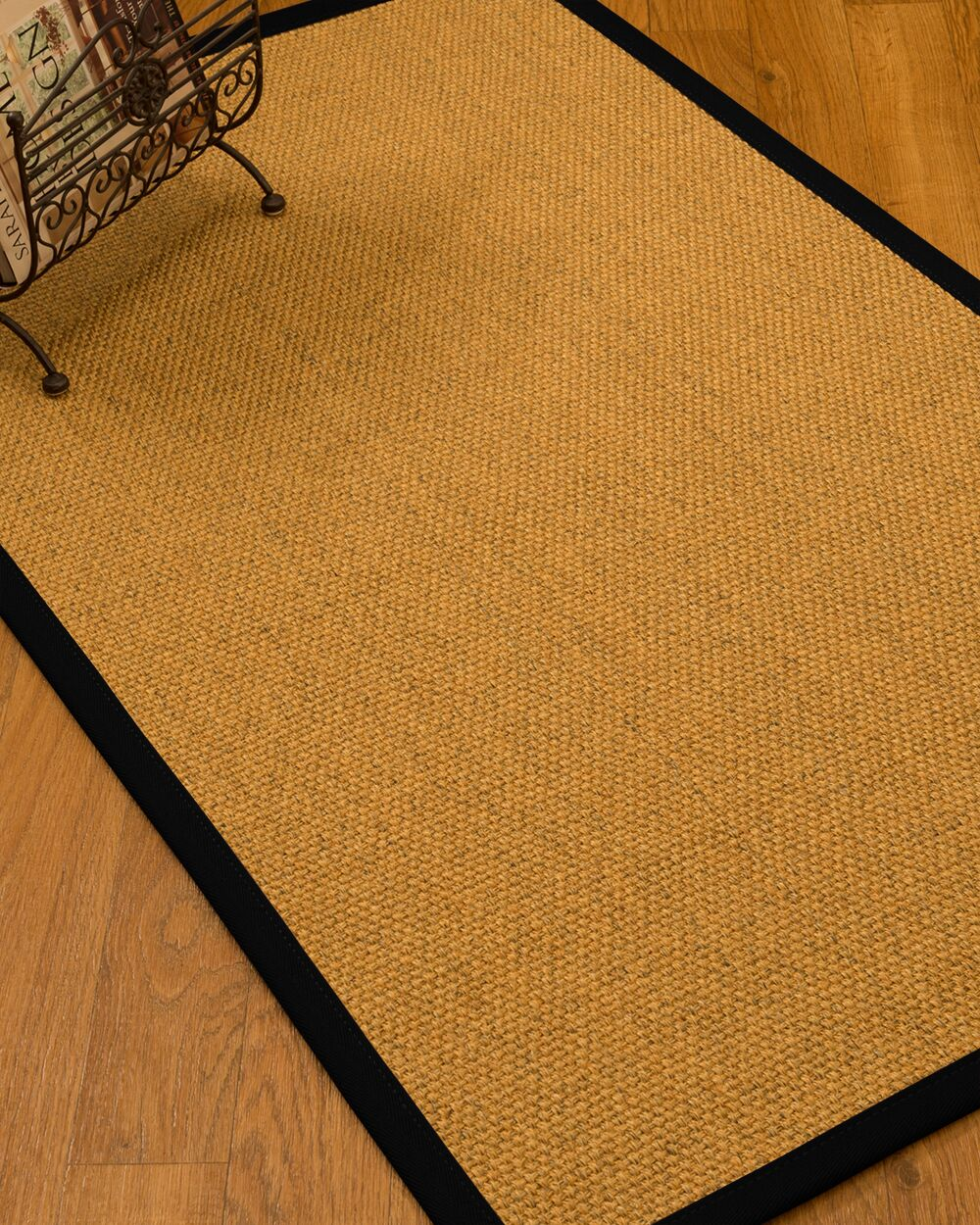 Pritzker Handmade Jute/Sisal Beige Indoor Area Rug Rug Size: Rectangle 3' x 5'