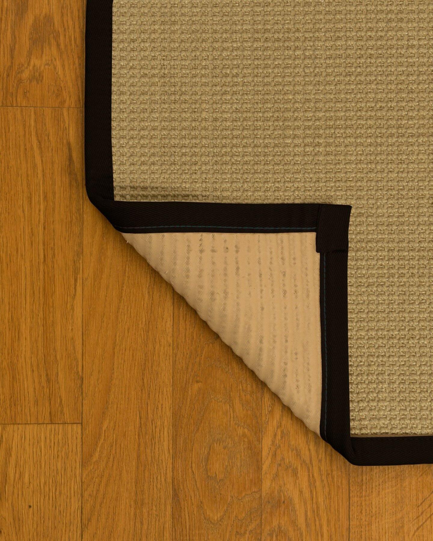 Jacobs Natural Fiber Sisal Hand-Woven Beige Area Rug Rug Size: Rectangle 9' x 12'
