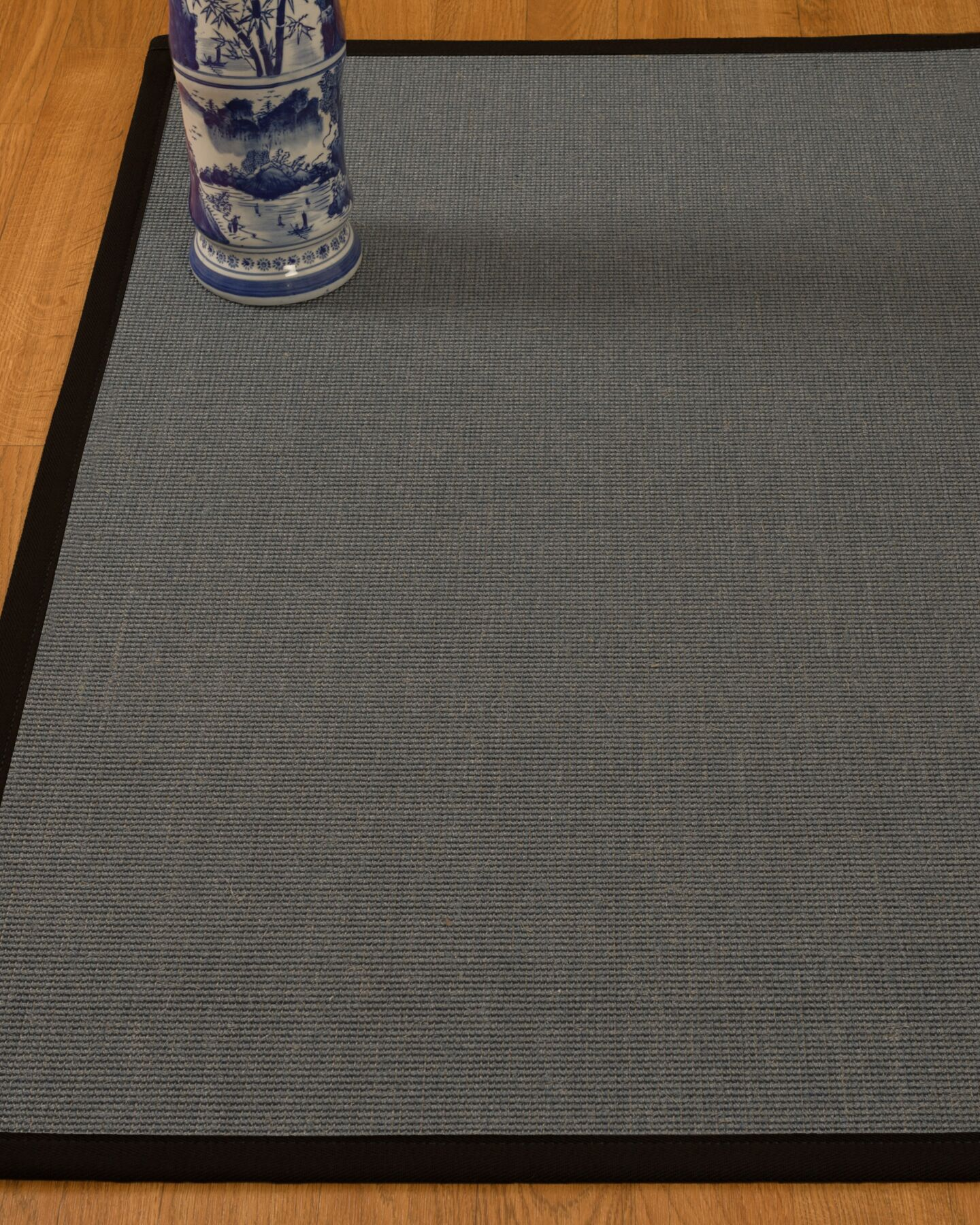 Ivy Handwoven Gray Area Rug Rug Size: Rectangle 4' x 6'
