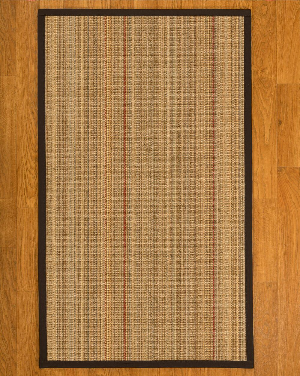 Aura Hand Woven Fiber Sisal Brown/Fudge Area Rug Rug Size: Rectangle 12' x 15'