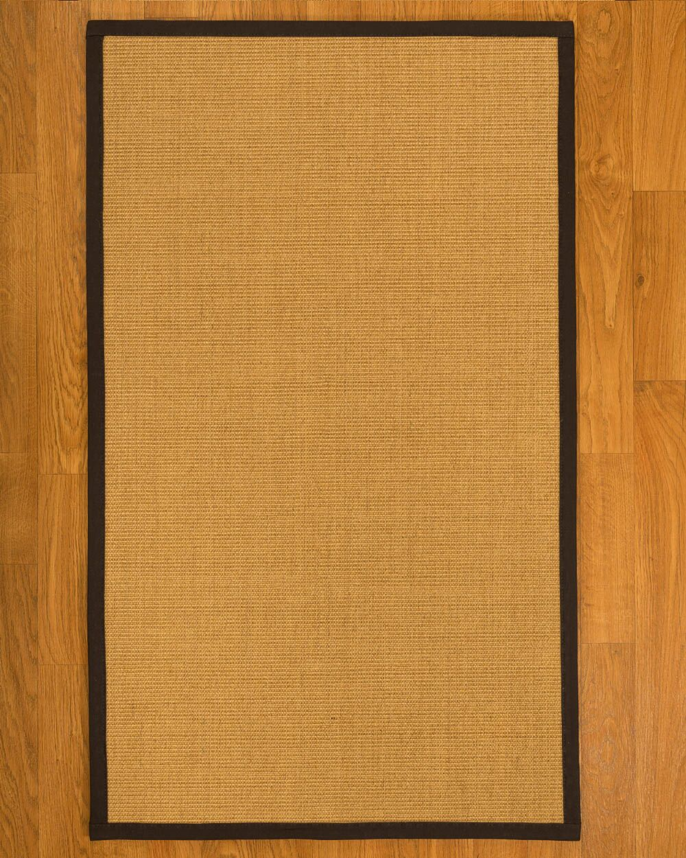 Astley Hand Woven Fiber Sisal Brown/Fudge Area Rug Rug Size: Runner 2'6