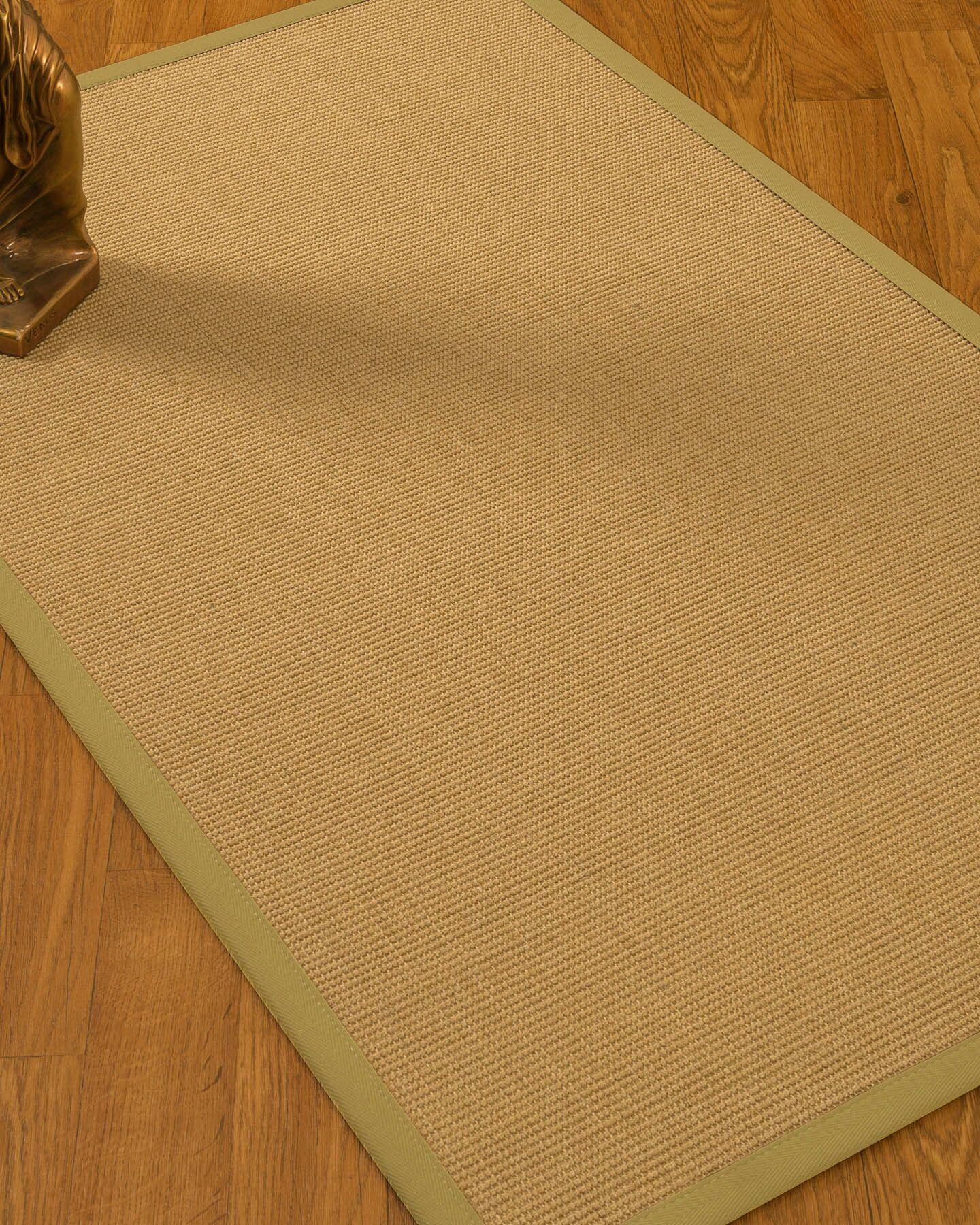 Astley Hand Woven Beige Area Rug Rug Size: Rectangle 5' x 8'