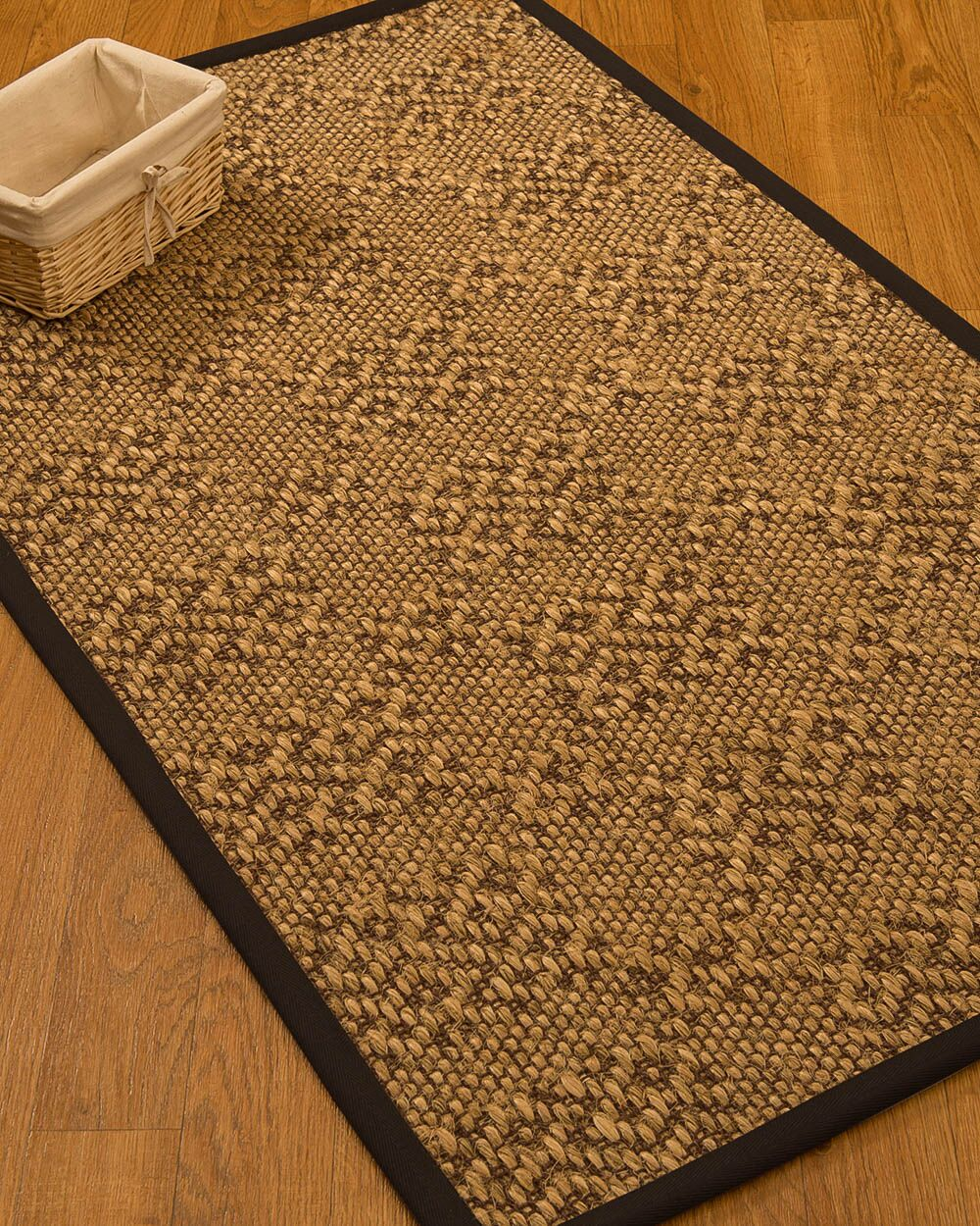 Camile Hand Woven Copper Area Rug Rug Size: Rectangle 4' X 6'