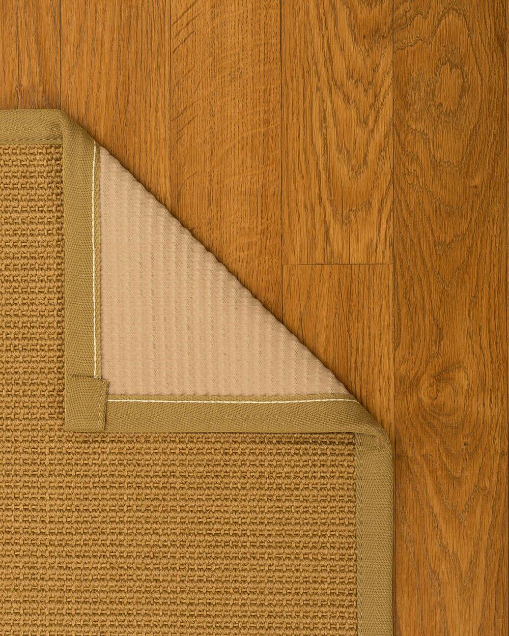 Coleridge Hand Woven Brown Area Rug Rug Size: Rectangle 8' X 10'