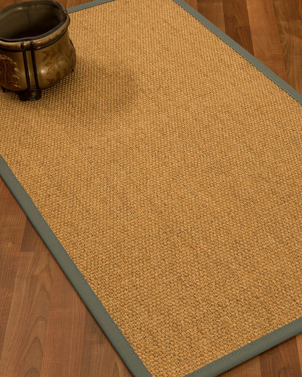 Healey Hand Woven Brown Area Rug Rug Size: Rectangle 5' X 8'