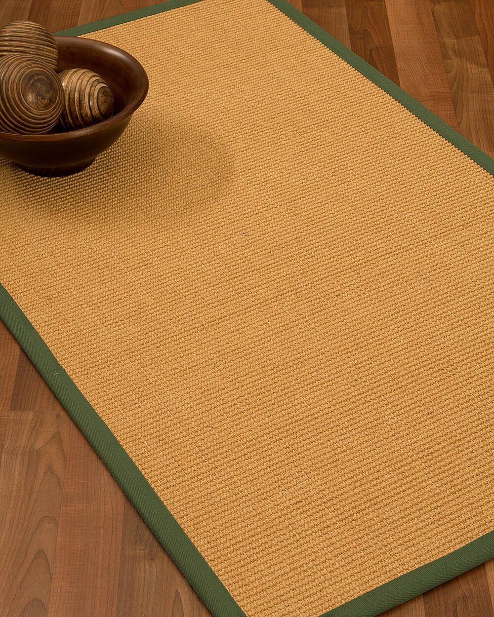 Buggs Hand Woven Brown Area Rug Rug Size: Rectangle 9' X 12'