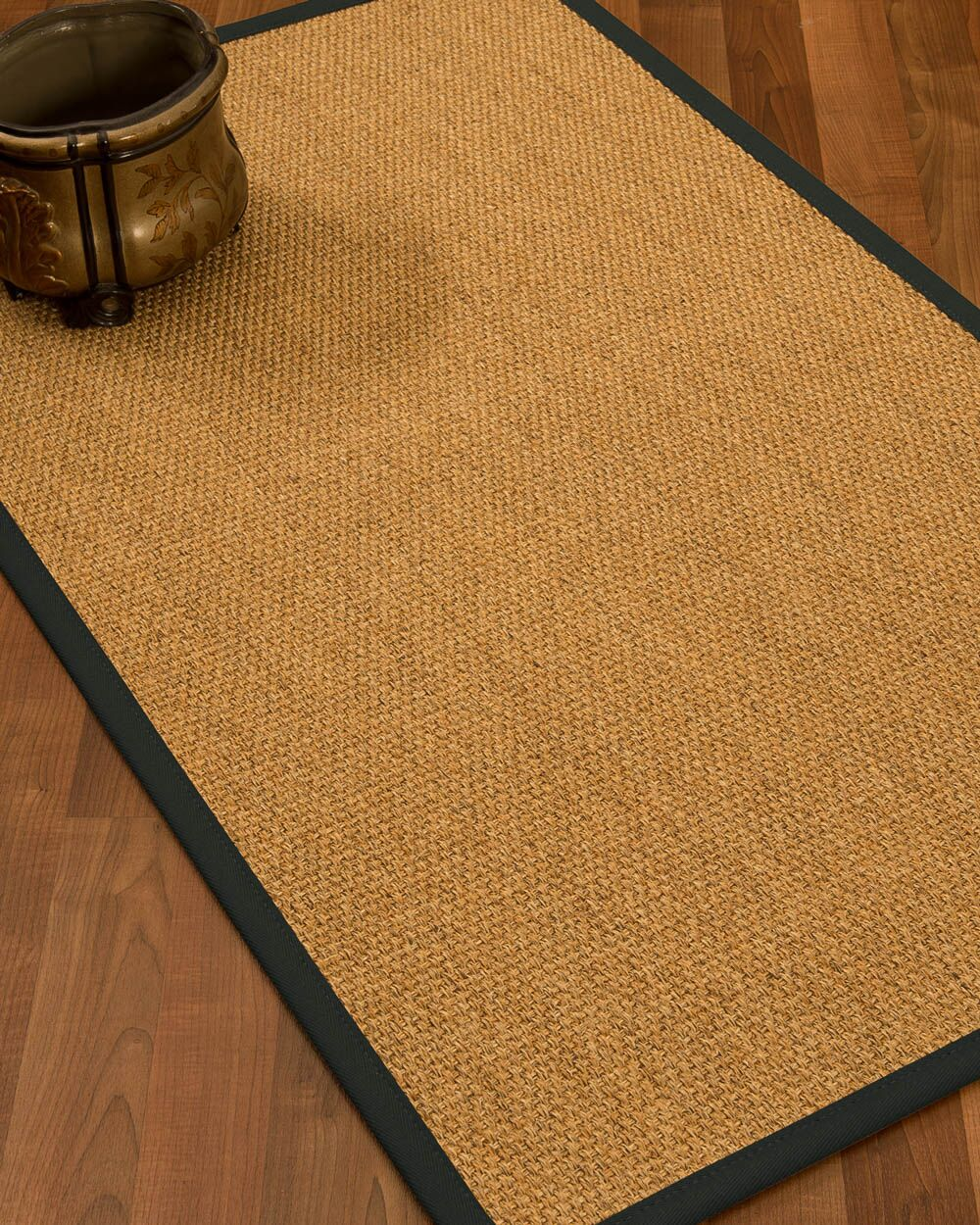 Healey Hand Woven Brown Area Rug Rug Size: Rectangle 9' X 12'