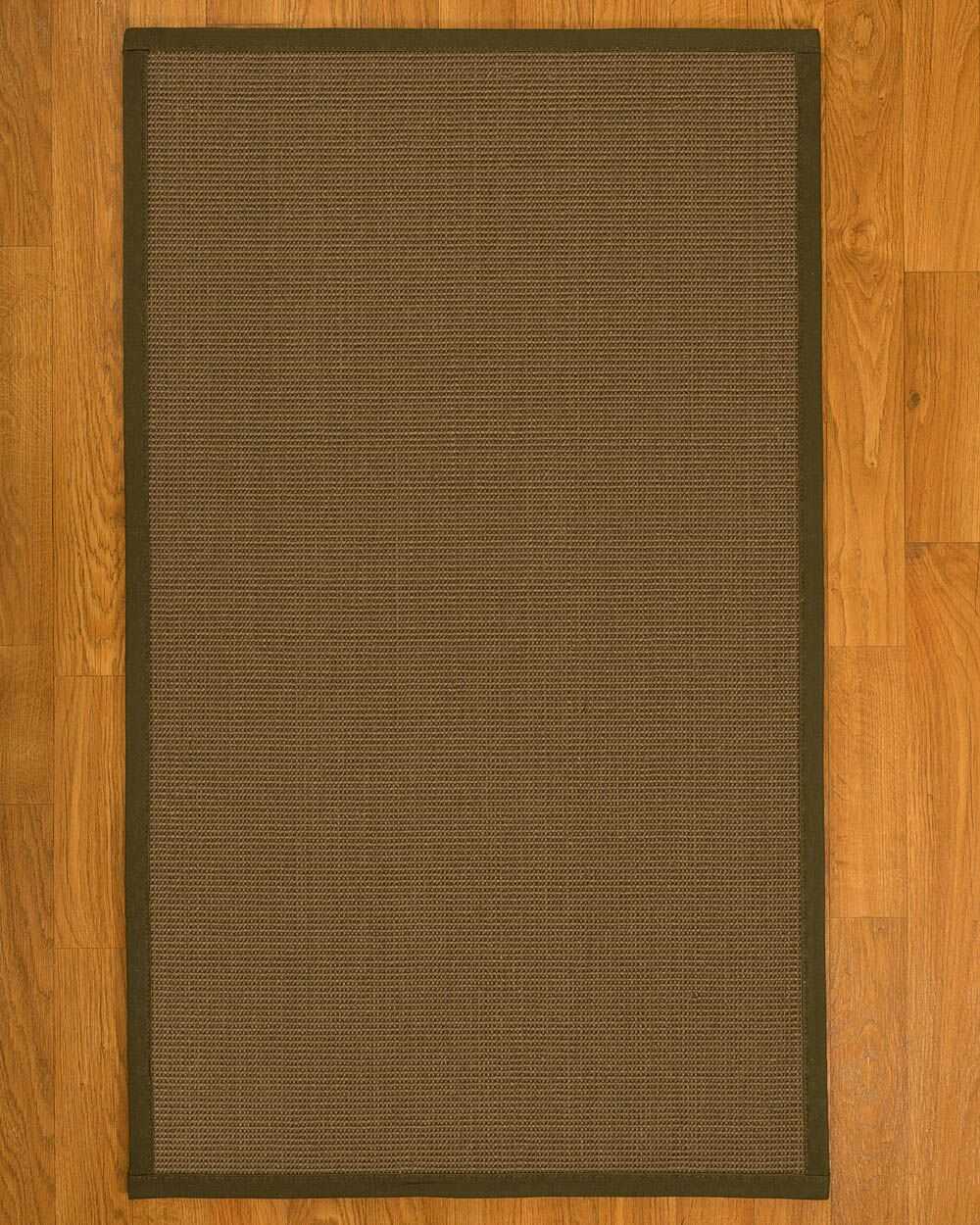 Aderyn Hand-Woven Brown Area Rug Rug Size: Rectangle 8' X 10'