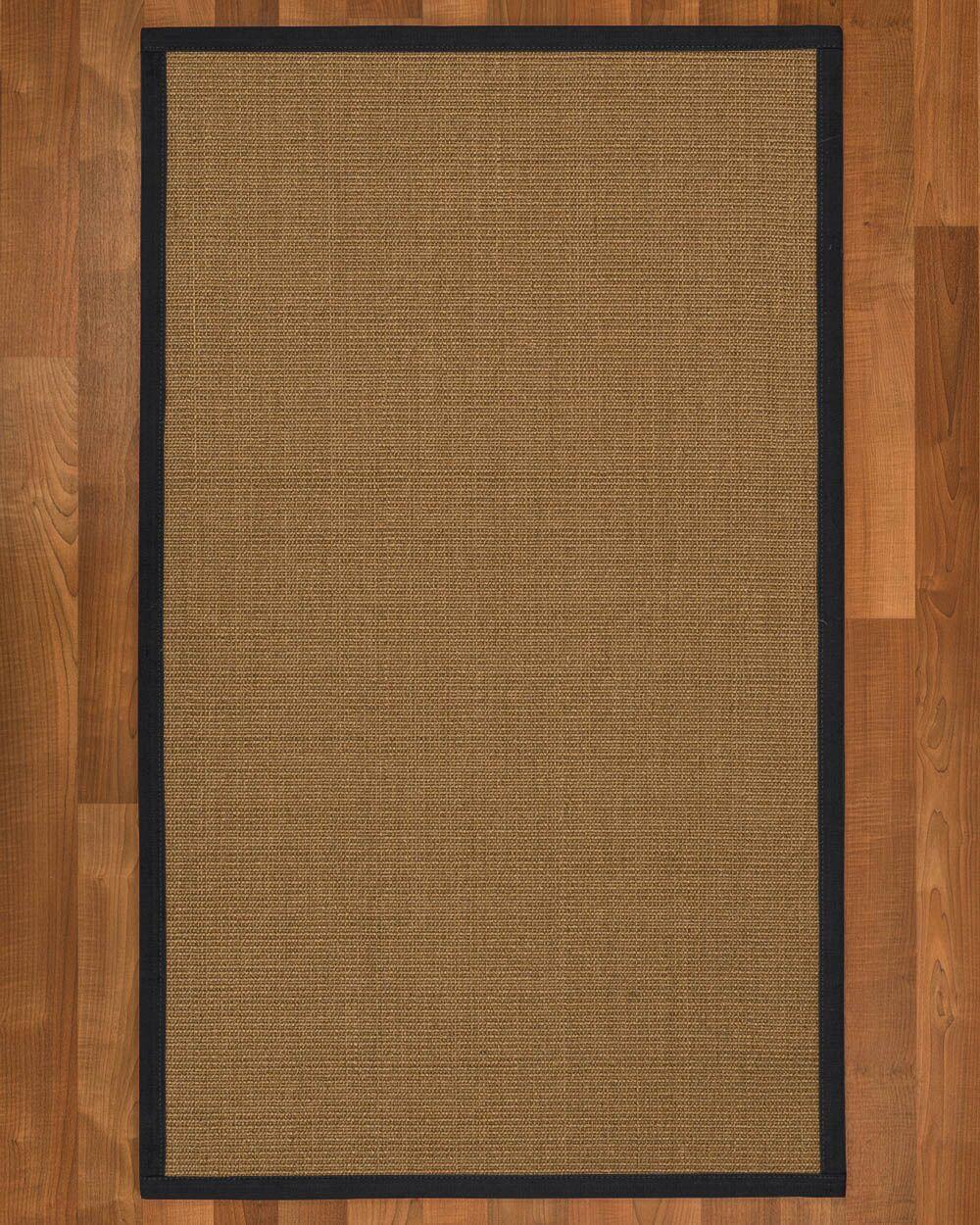 Jamesville Hand Woven Brown Area Rug Rug Size: Runner 2'6