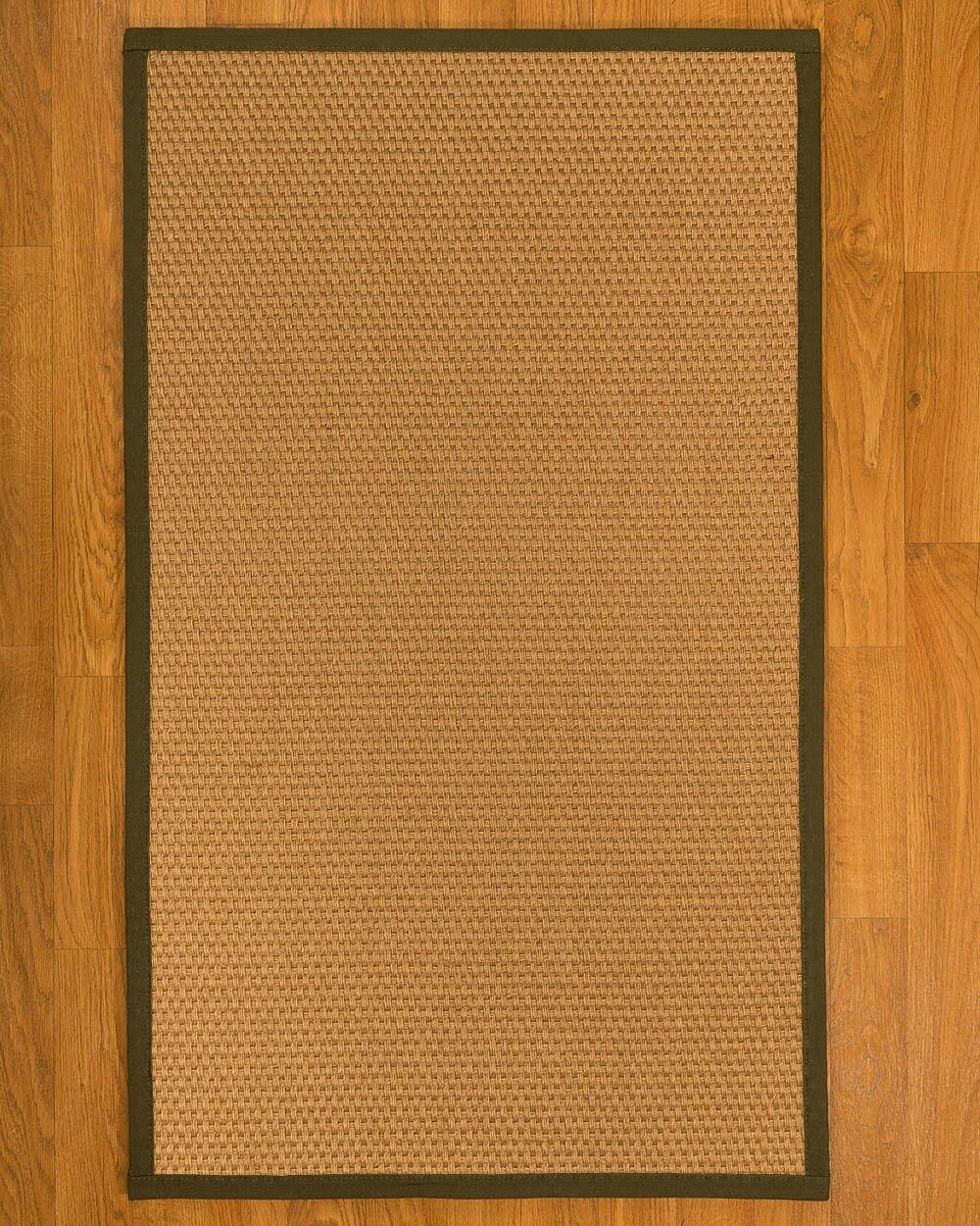 Shauntel Hand-Woven Beige Area Rug Rug Size: Rectangle 8' X 10'