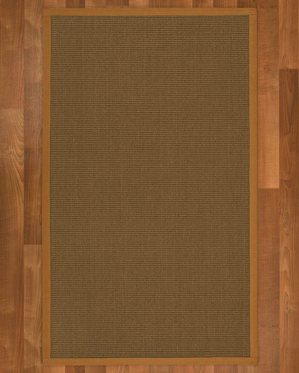 Aderyn Hand-Woven Brown Area Rug Rug Size: Rectangle 9' X 12'