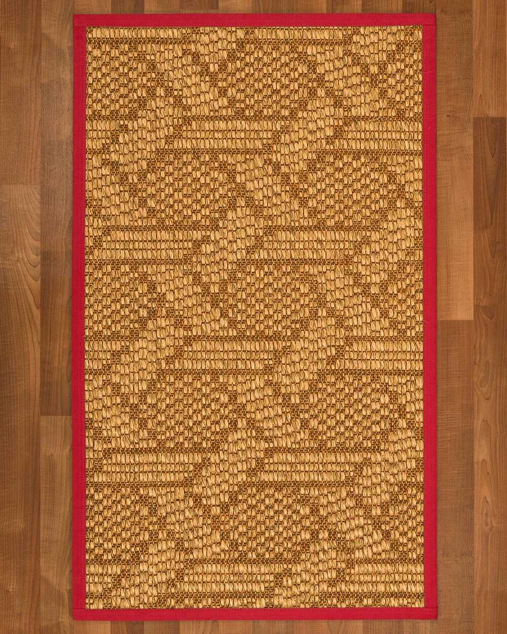 Aalin Hand-Woven Beige Area Rug Rug Size: Rectangle 3' X 5'