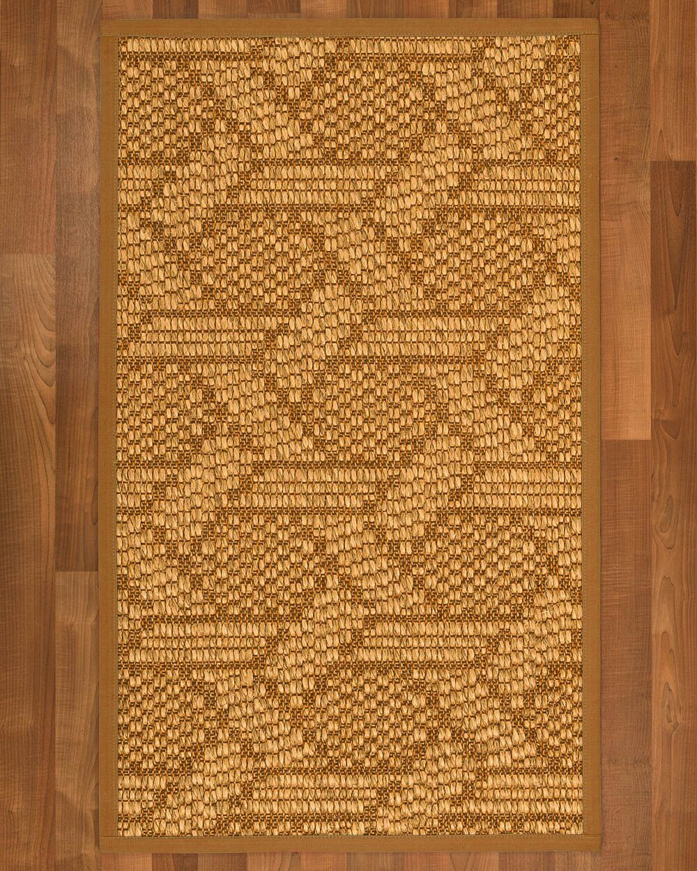 Aalin Hand-Woven Brown Area Rug Rug Size: Rectangle 12' x 15'
