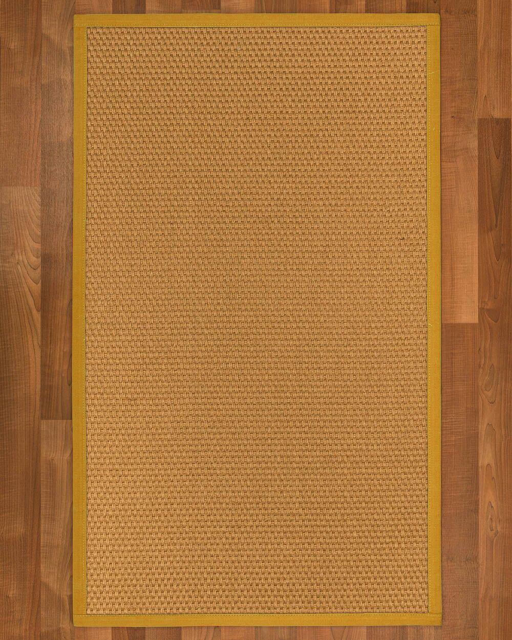 Shauntel Hand Woven Yellow Area Rug