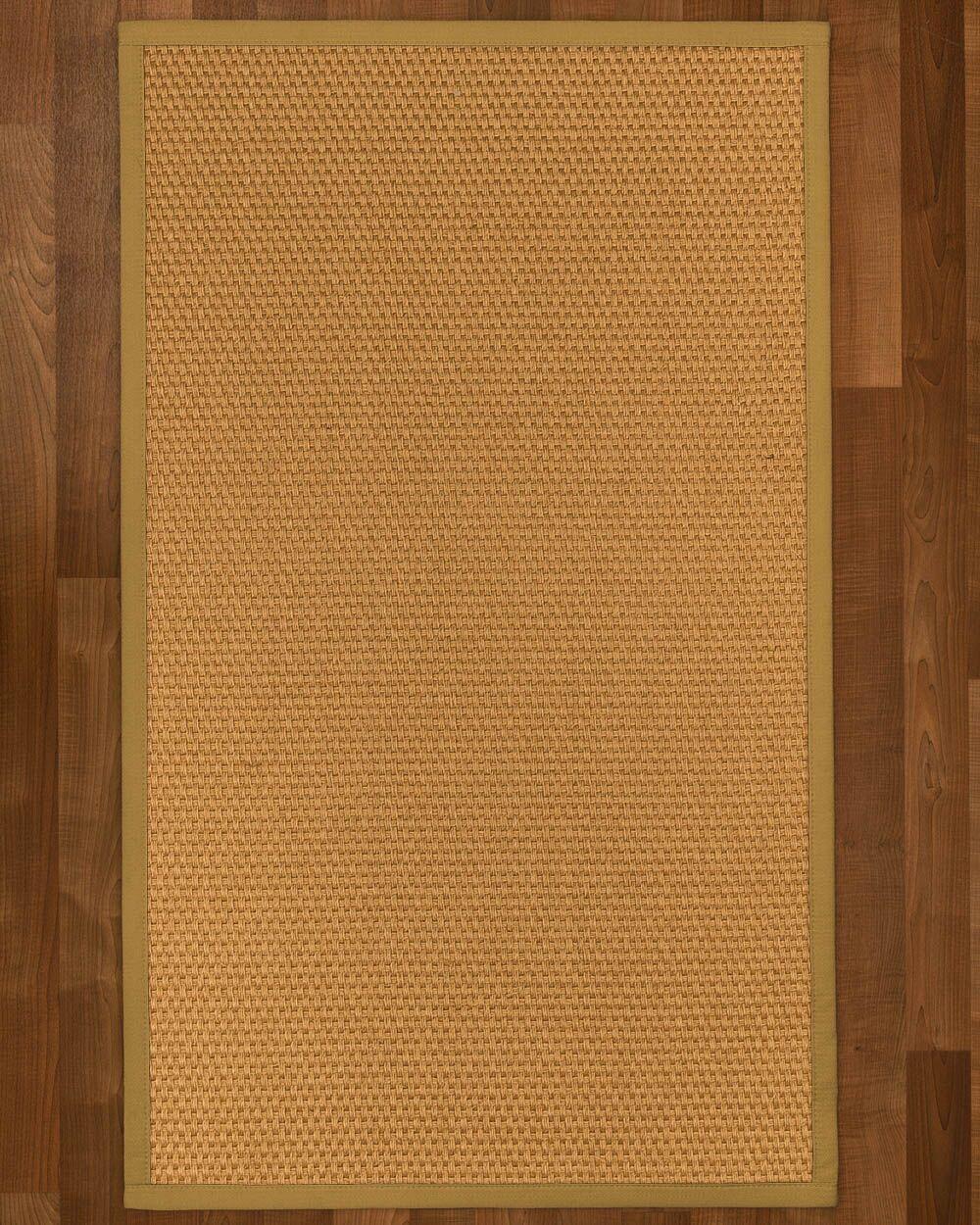 Shauntel Sisal Sage Area Rug Rug Size: Rectangle 4' X 6'