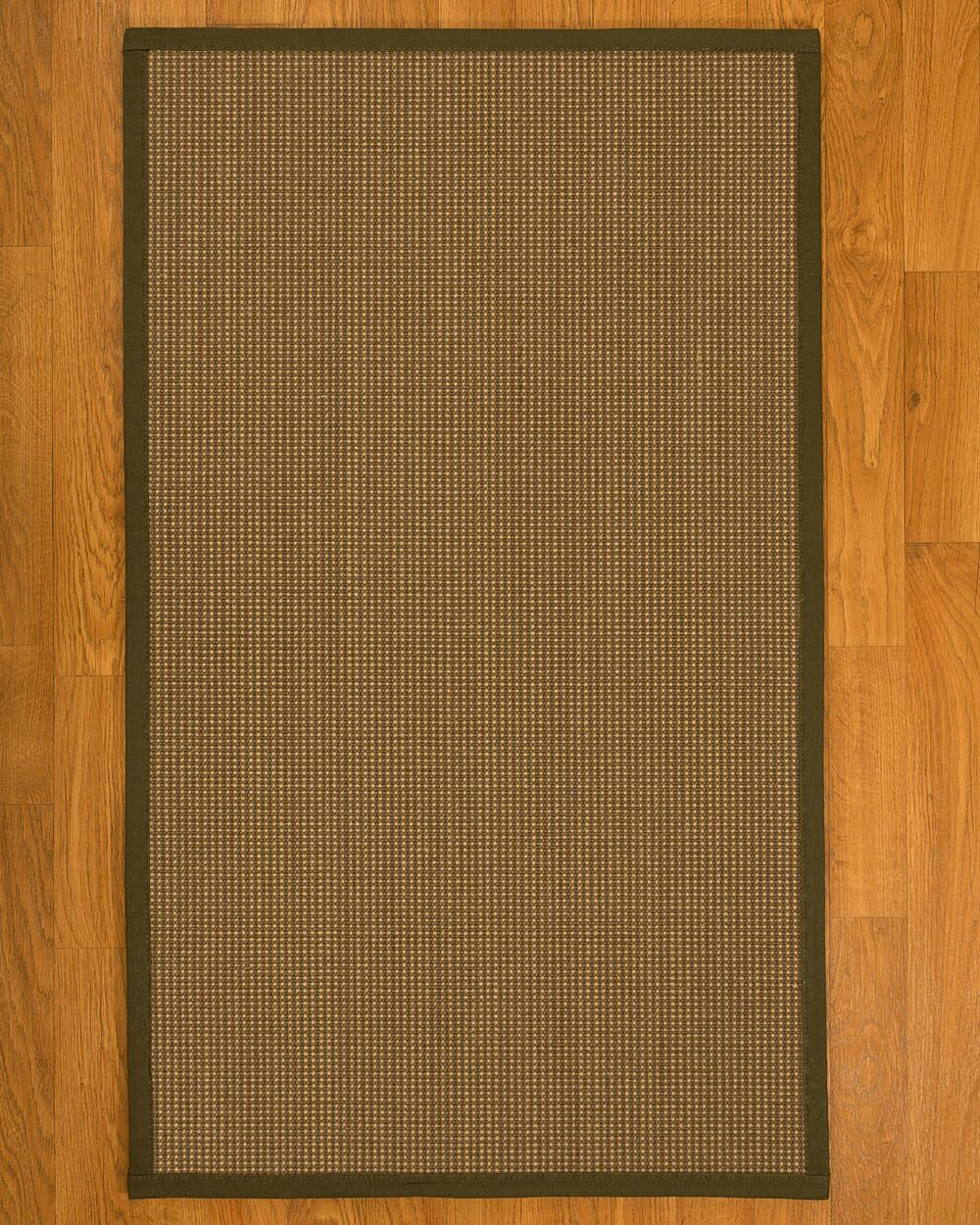 Asther Hand-Woven Brown Area Rug Rug Size: Rectangle 2' X 3'