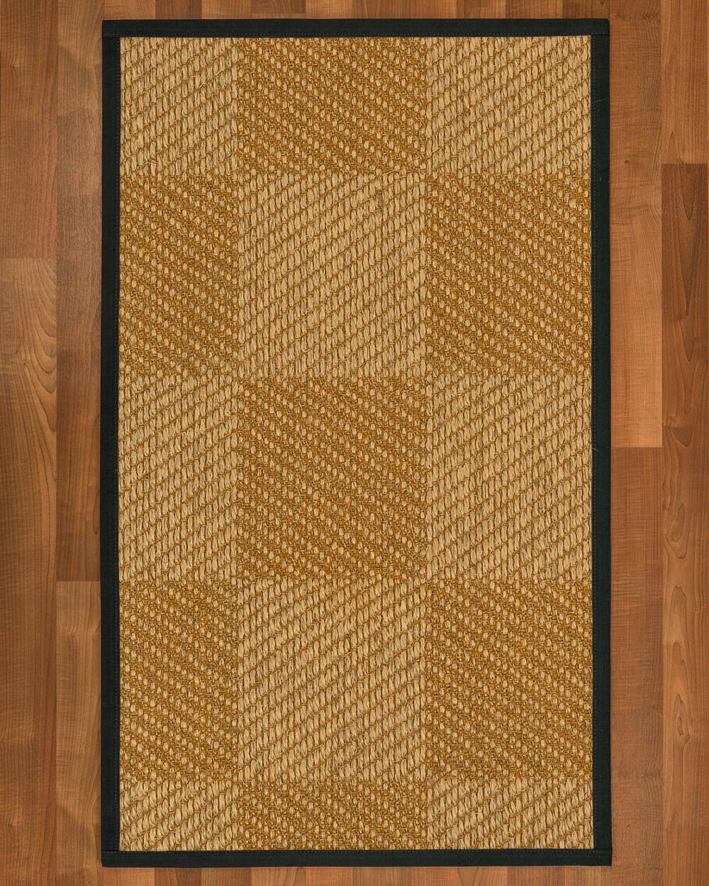 Adley Hand-Woven Beige Area Rug Rug Size: Rectangle 6' X 9'