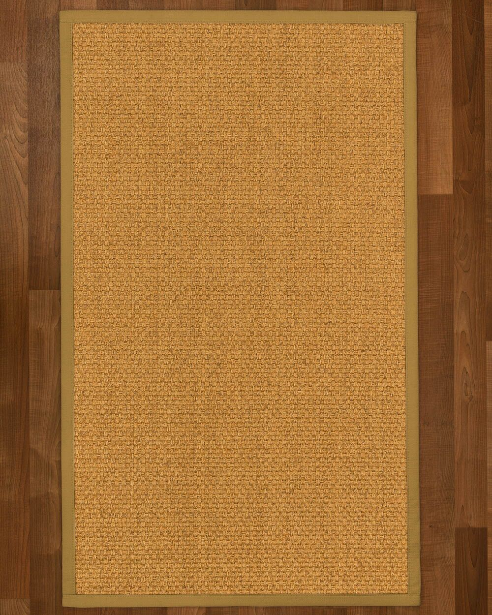 Andlau Hand Woven Brown Area Rug Rug Size: Rectangle 4' X 6'