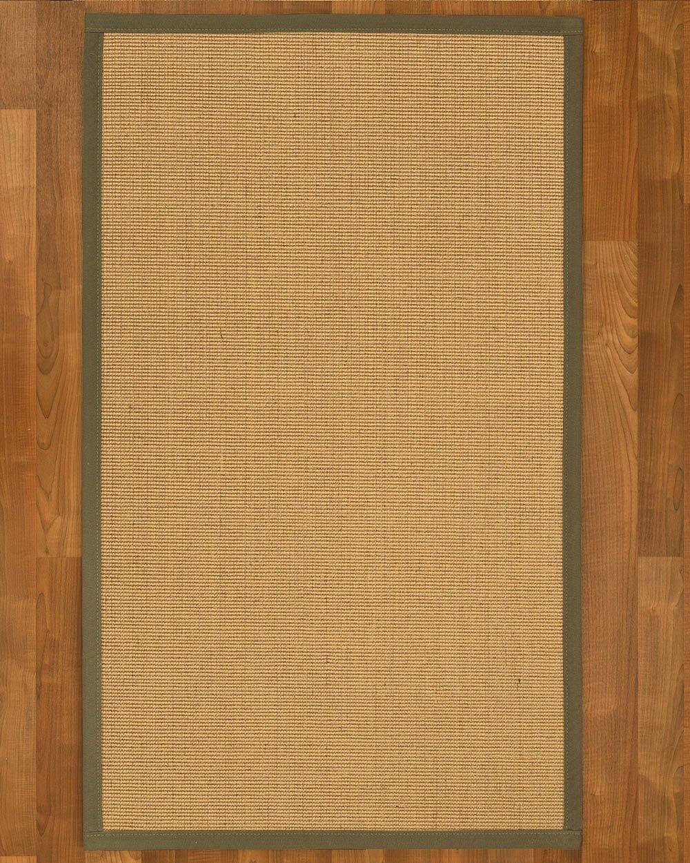 Lanie Hand-Woven Beige Area Rug Rug Size: Runner 2'6