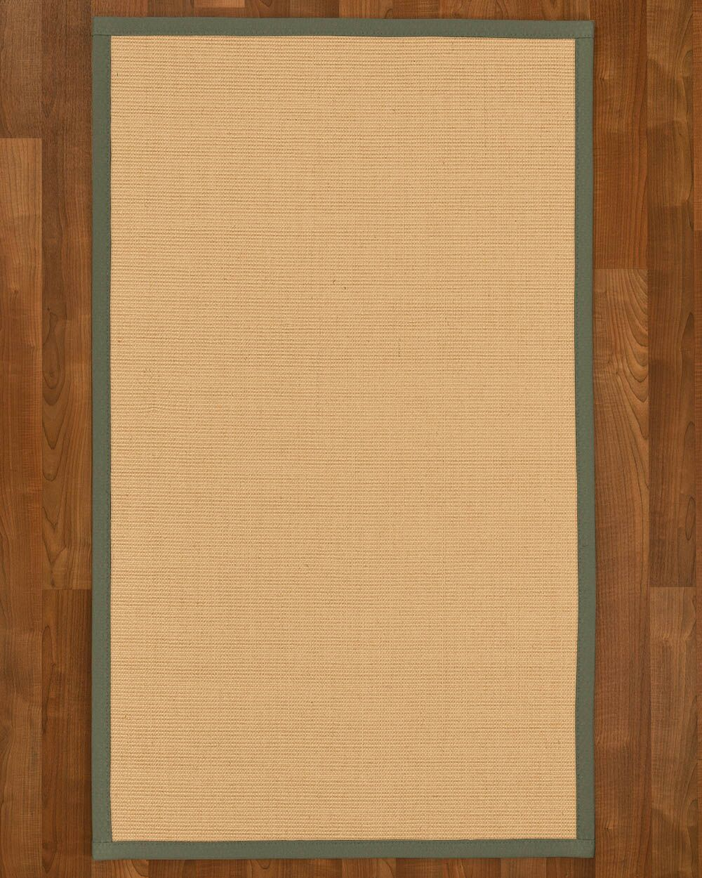 Rupendra Hand Woven Beige Area Rug Rug Size: Rectangle 2' X 3'