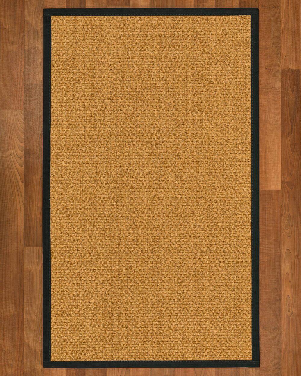 Andlau Hand Woven Brown Area Rug Rug Size: Rectangle 9' x 12'