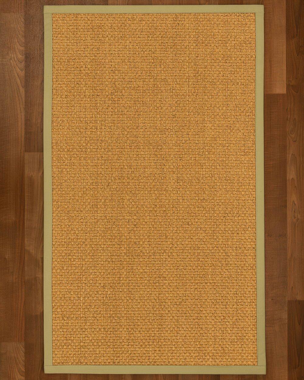 Andlau Hand Woven Brown Area Rug Rug Size: Rectangle 12' x 15'