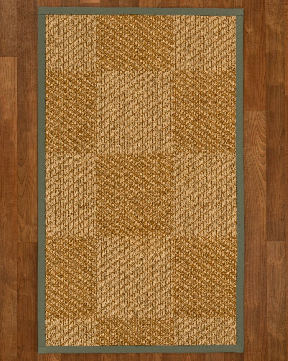 Adley Sisal Stone Area Rug Rug Size: Rectangle 4' X 6'