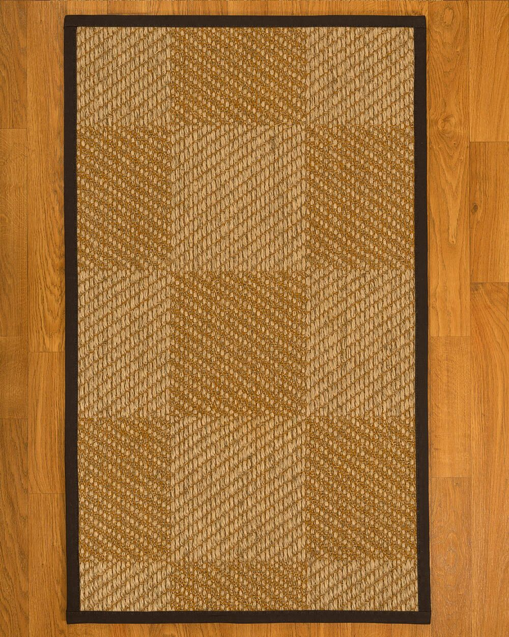 Adley Hand Woven Brown Area Rug Rug Size: Runner 2'6