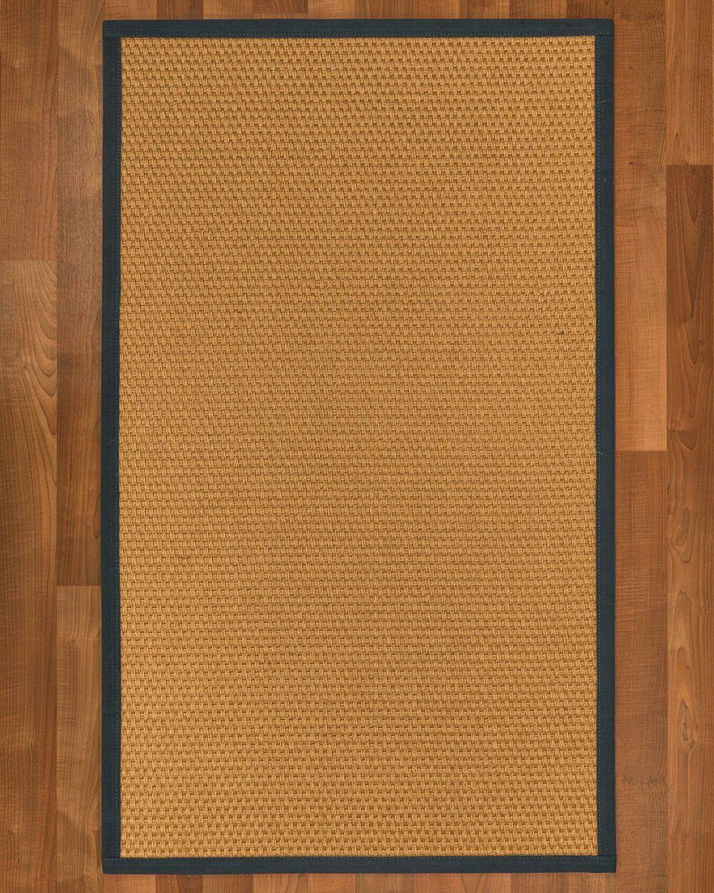 Shauntel Hand Woven Yellow Area Rug Rug Size: Rectangle 4' X 6'