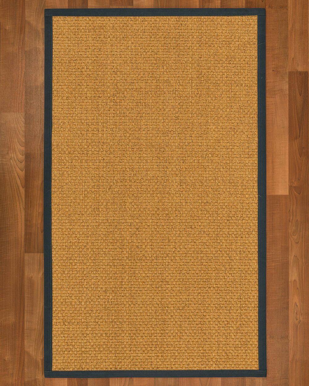 Andlau Hand-Woven Tan Area Rug Rug Size: Rectangle 9' x 12'