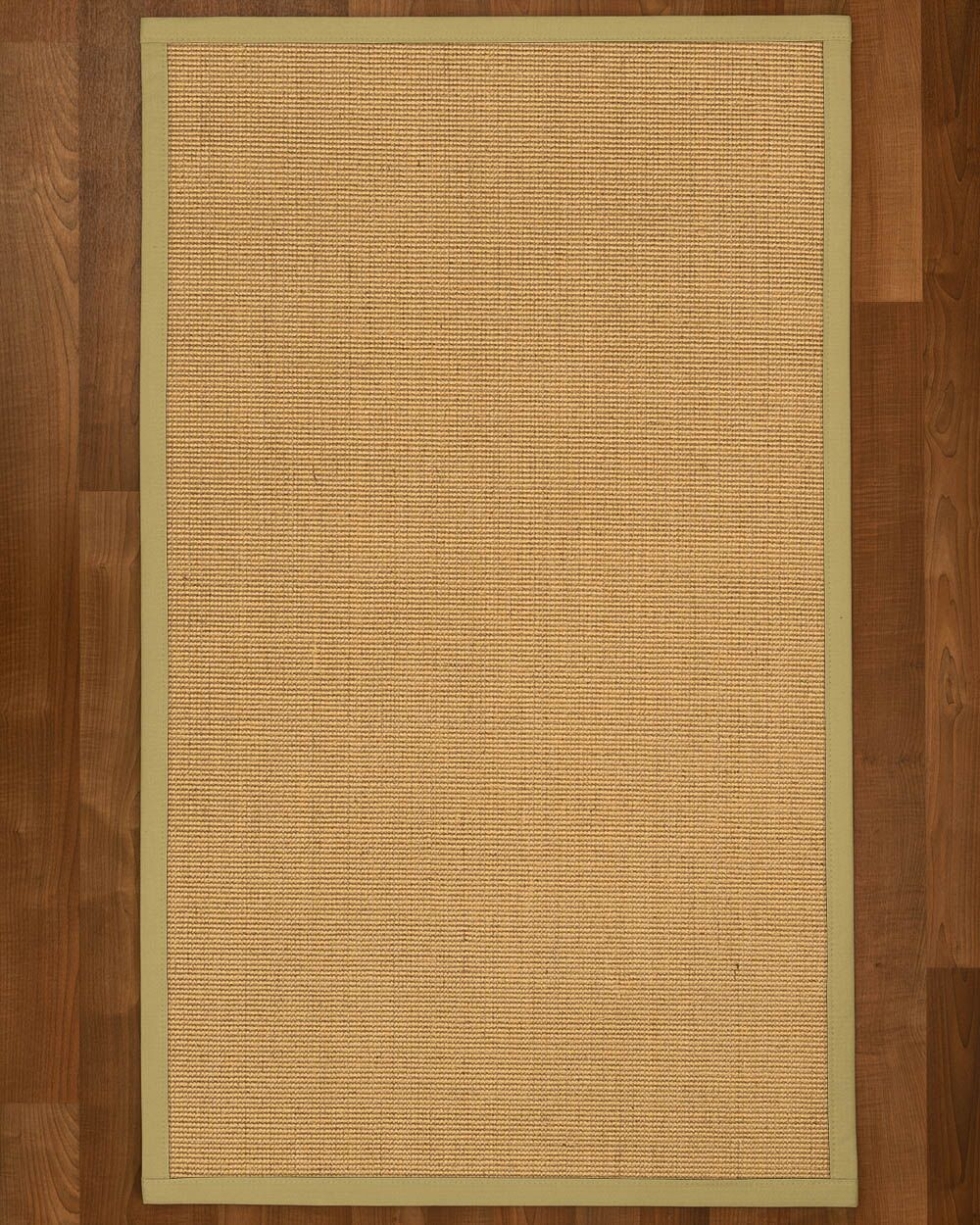 Lanie Hand Woven Beige Area Rug Rug Size: Rectangle 8' X 10'