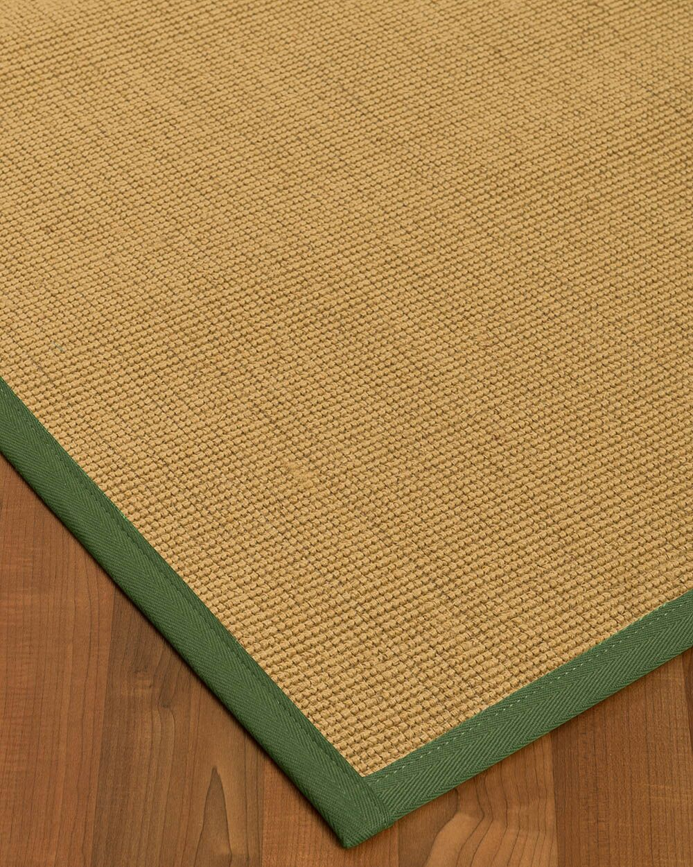 Lanie Hand-Woven Beige Area Rug Rug Size: Rectangle 8' X 10'
