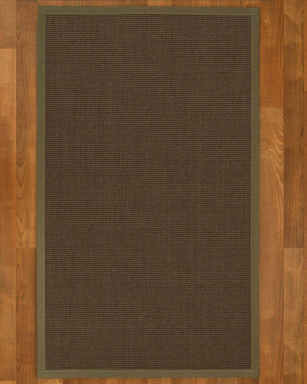 Brokaw Contemporary Hand Woven Sisal Brown Area Rug Rug Size: Rectangle 8' X 10'