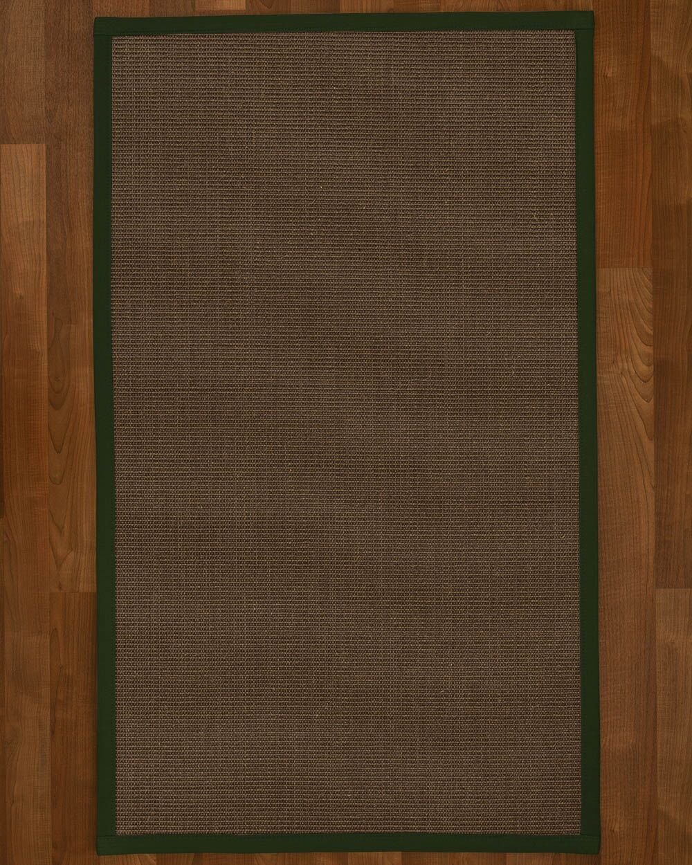 Brokaw Contemporary Hand Woven Brown Area Rug Rug Size: Rectangle 3' X 5'
