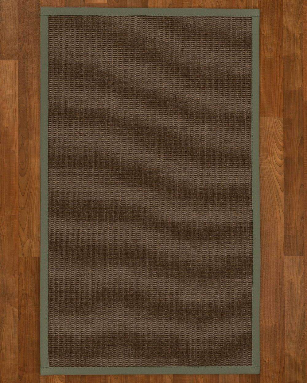 Beck Solid Hand Woven Brown Area Rug Rug Size: Rectangle 5' X 8'